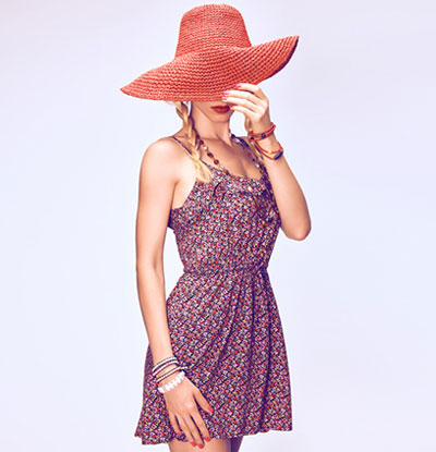 Go boho with a sundress