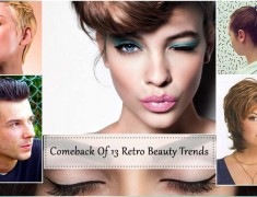 Comeback Of 13 Retro Beauty Trends