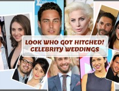 Look Who Got Hitched! Celebrity Weddings