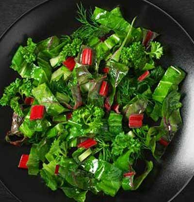 Only leafy veggies