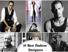 10 Best Fashion Designers