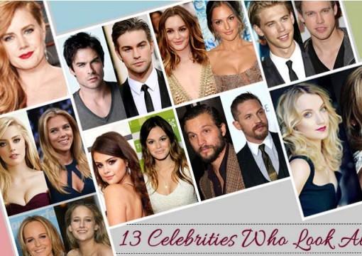 13 Celebrities Who Look Alike