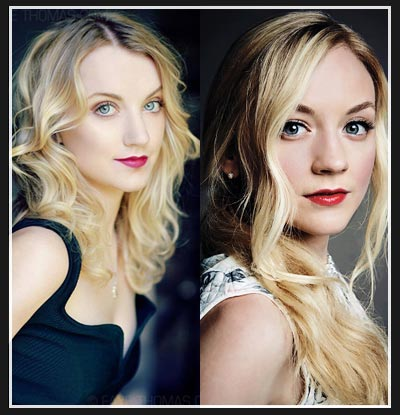 Evanna Lynch and Emily Kinney