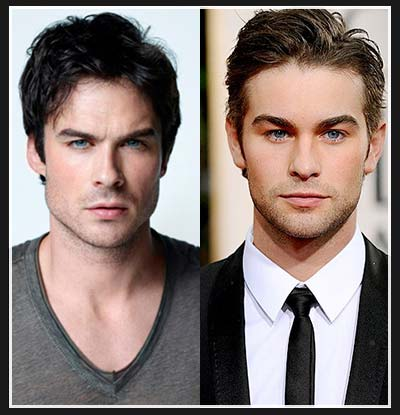 Ian Somerhalder and Chace Crawford