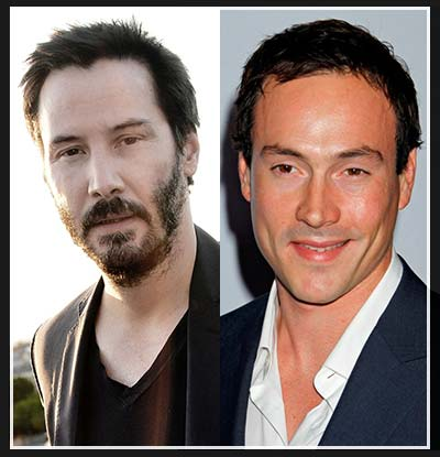Keanu Reeves and Chris Klein