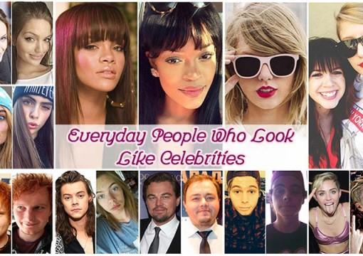 Everyday People Who Look Like Celebrities