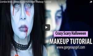 Zombie Bride – Crazy Scary Halloween Makeup Tutorial