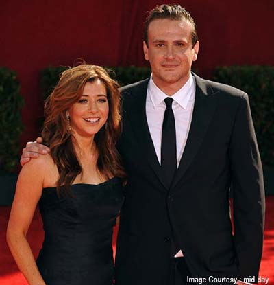 Jason Segel and Alyson Hannigan