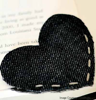 Denim Bookmark