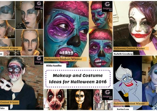 Makeup and Costume Ideas for Halloween 2016