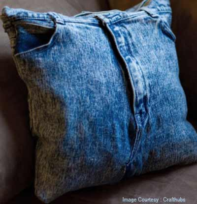 Denim Pillow