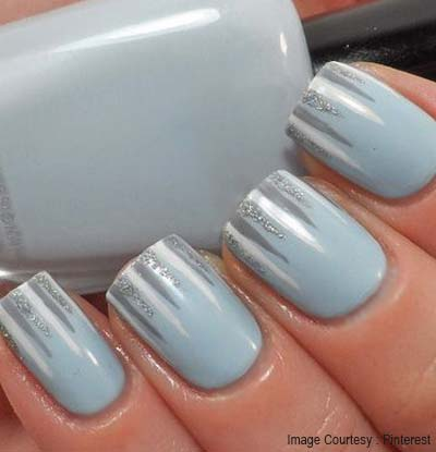 Chic Silver Icicles