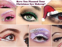 Have You Planned Your Christmas Eye Makeup?