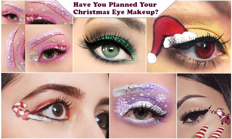 Christmas Eye Makeup