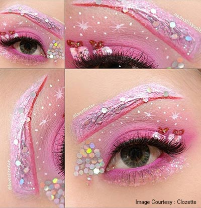 Christmas Eye Makeup Ideas Christmas Party Makeup Looks