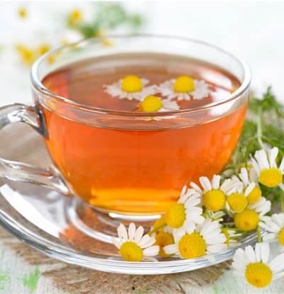 Drink soothing teas