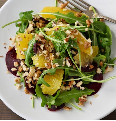 Greens and Citrus Salad
