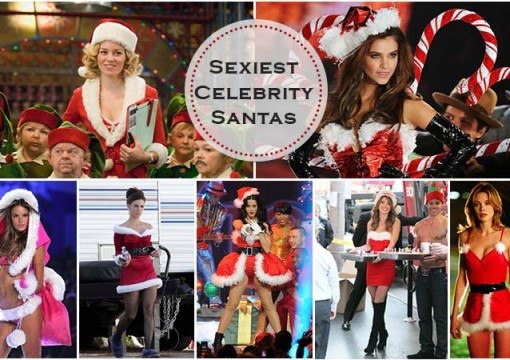 Christmas: Who Is The Sexiest Celebrity Santa For This Season?