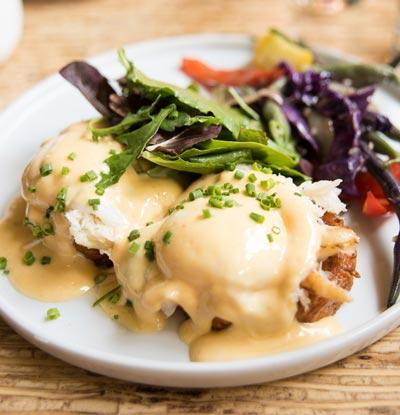 Sweet potato and egg salad