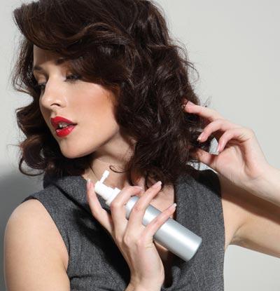Hair shine spray