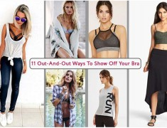 11 Out-And-Out Ways to Show Off Your Bra
