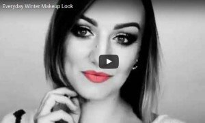 Everyday Winter Makeup Look  by Roxana Elena