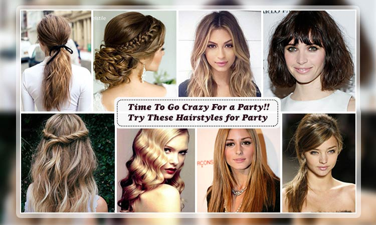 Hairstyles for Party