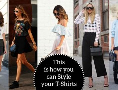 How to Style T-Shirts – Try Out These 7 Genius Ways