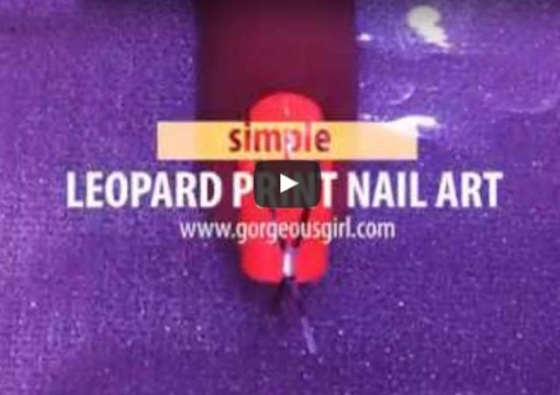 Lovely Leopard Print Nail Art by Doriana Vivas Marquez