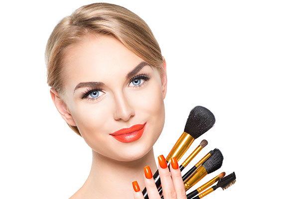 Orange Lip Gloss