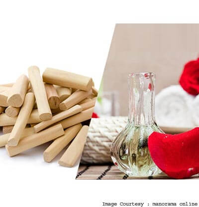 Use Sandalwood And Rose Water
