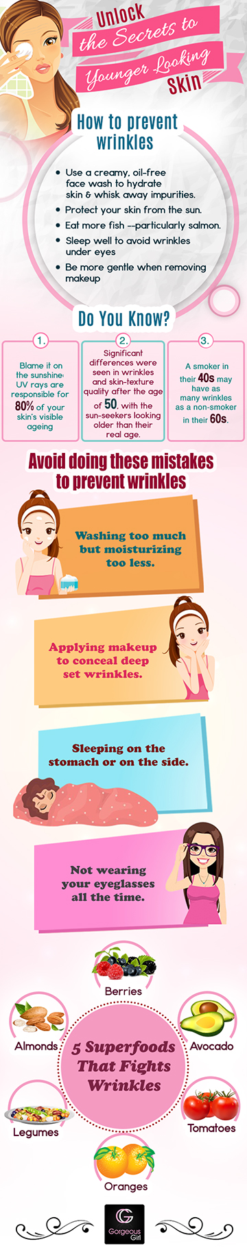 Stop Doing These Things To Prevent Wrinkles