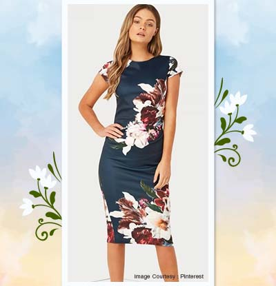 Printed Bodycon Dresses