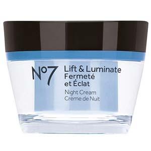 Boots No7 Lift & Luminate Night Cream