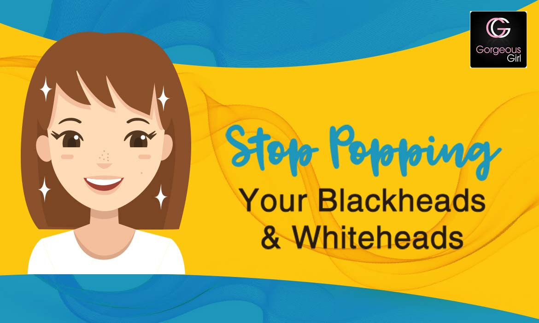Get Rid Of Blackheads