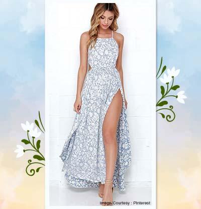 High- Slit Dress