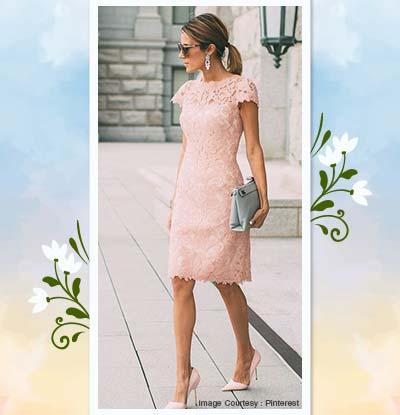 Lace Sheath Dresses