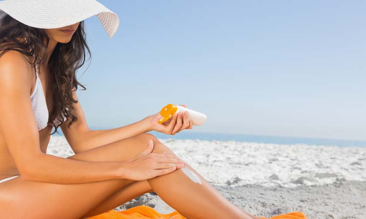 best treatments for sun dam