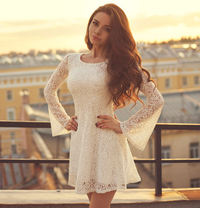 Cutout Lace Dress