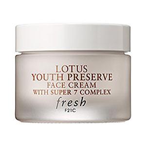 Fresh Lotus Youth Preserve Face Cream