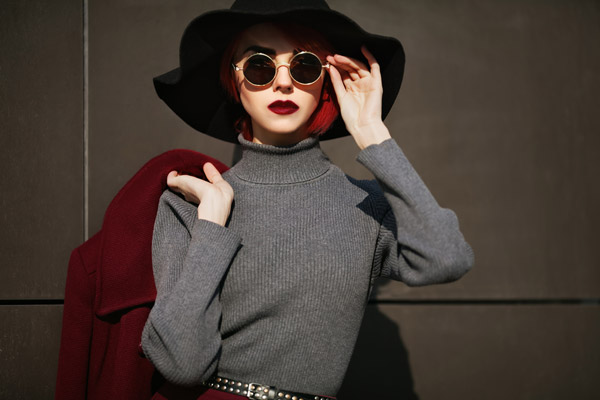 1. Turtleneck Sweater
