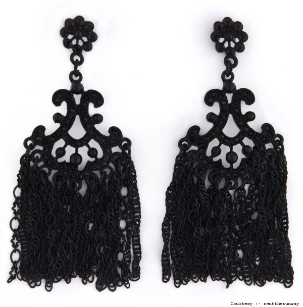 7. Sequin Earrings