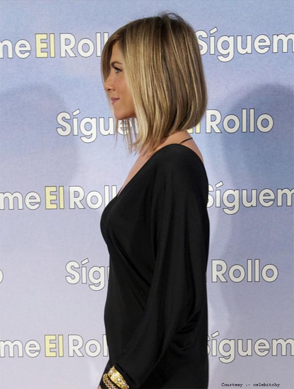 Angled Bob of Jennifer Aniston