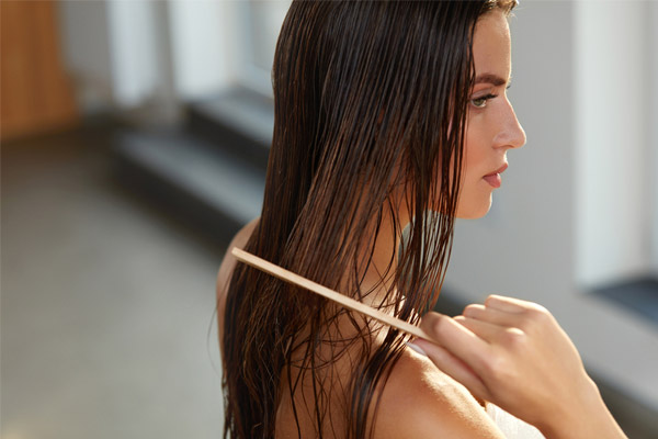 You May Also Brush Your Wet Hair Until It Dries