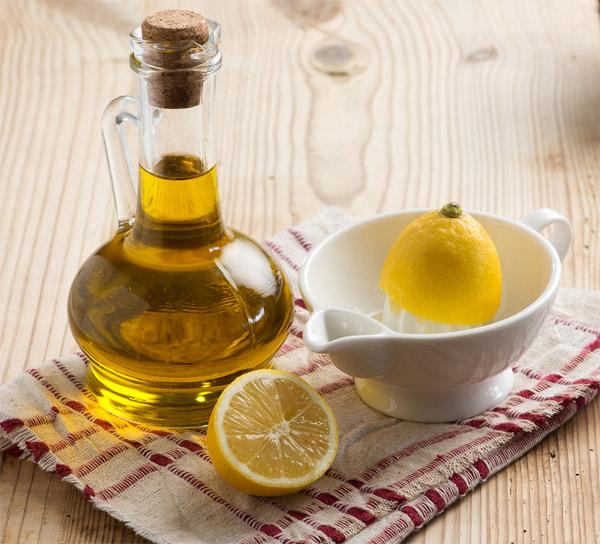 Coconut Oil & Lemon Juice