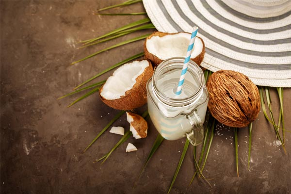 Drink Coconut Water To Stay Hydrated In The Summer