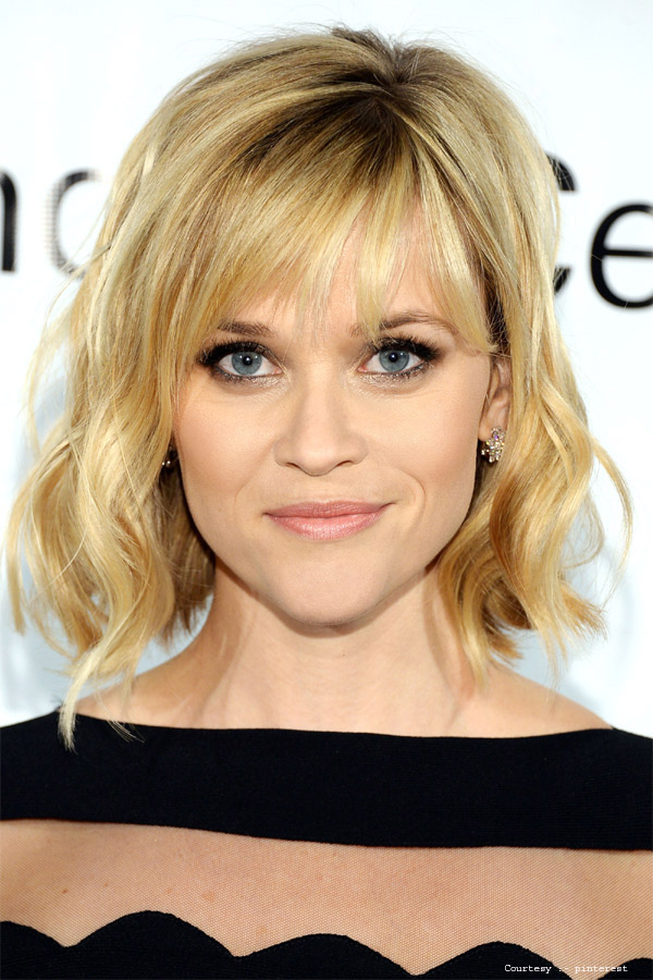 Flirty Fringe of Reese Witherspoon