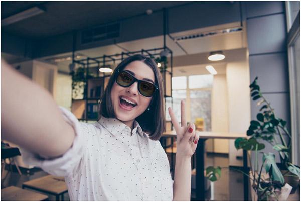 Modern Shirting + Retro Sunglasses