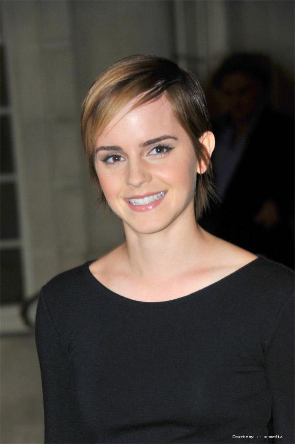 Pixie Cut of Emma Watson