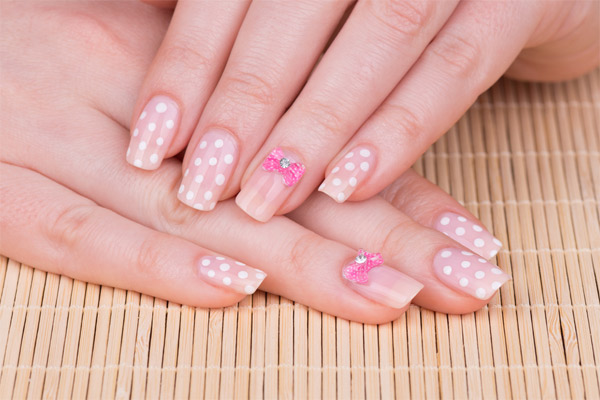Polka Dot Nail Art Designs